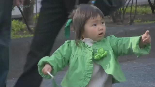 JapanicTV Quick Video 07 - St. Patty's Day Parade in Omotesando - 2009